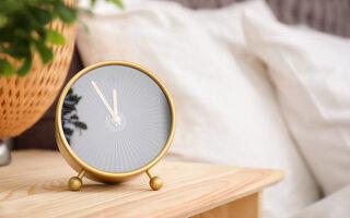 Tenha um horário adequado para dormir