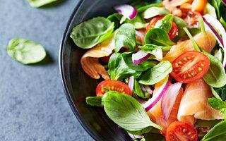Aposte em alimentos saudáveis