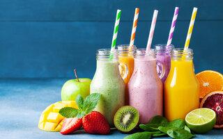 Shake de frutas