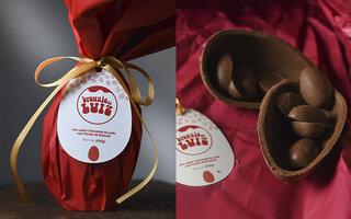 Ovo de Chocolate Ao Leite do Brownie do Luiz