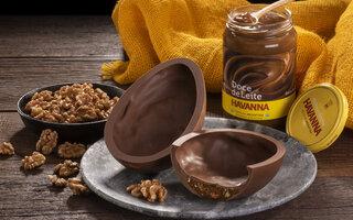 Ovo de Chocolate ao Leite recheado de Dulce de Leche e Nozes – Havanna