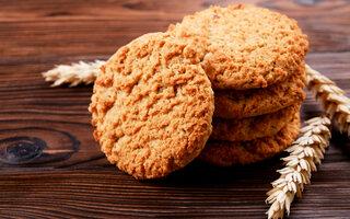 Cookies Integrais de Aveia e Abóbora