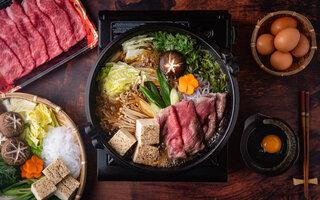 Sukiyaki Japonês