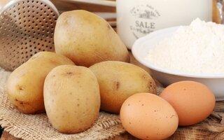 Ingredientes da Omelete