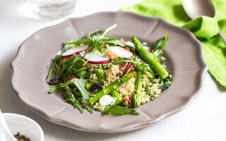 Salada de Quinoa com Aspargos