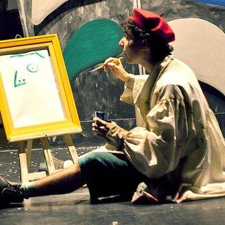 Teatro: O menino que mordeu Picasso