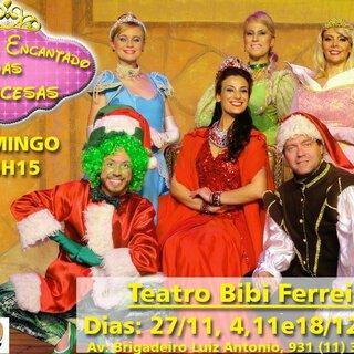 Teatro: O Natal Encantado das Princesas