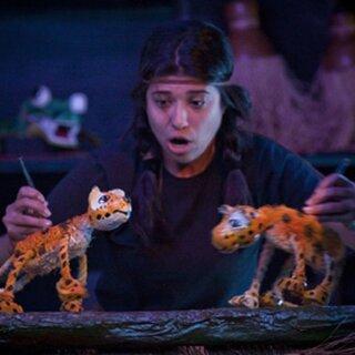 Teatro: BuZum! volta ao CERET e ao Instituto Butantan para encenar o espetáculo Filhotes do Brasil