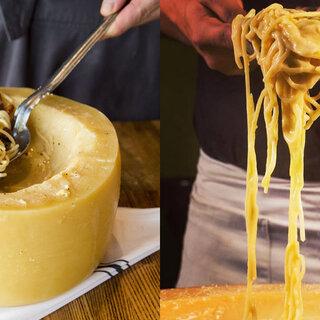 Restaurantes: Lugares em SP para comer o famoso macarrão dentro do queijo