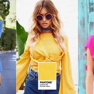 Moda e Beleza: Conheça as cores da cartela Pantone verão 2018 e saiba como investir nesta tendência