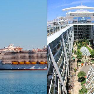 Viagens Internacionais: Symphony of the Seas, o maior navio do mundo, realiza sua primeira viagem neste sábado (7); saiba mais