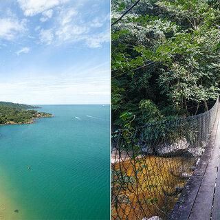 Viagens Nacionais: Aventure-se: 5 trilhas imperdíveis para fazer em IlhaBela