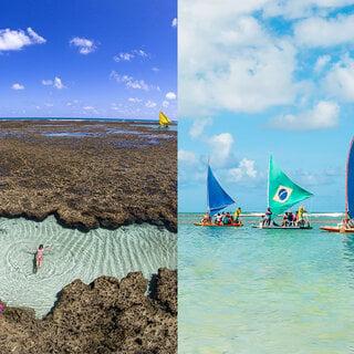 Viagens Nacionais: Conheça Ipojuca, região formada por piscinas naturais em Pernambuco