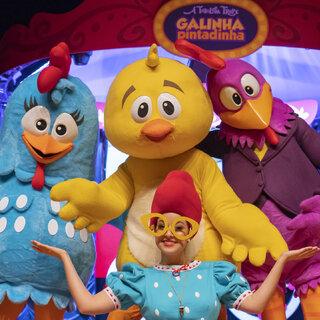 Teatro: Galinha Pintadinha e a Fabulosa Trupe