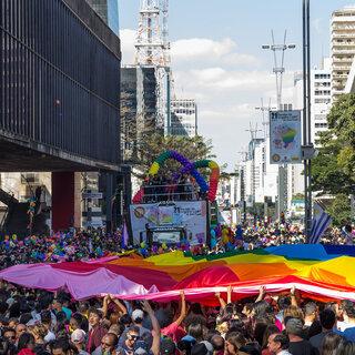Na Cidade: 23ª Parada do Orgulho LGBTQIA+ de São Paulo