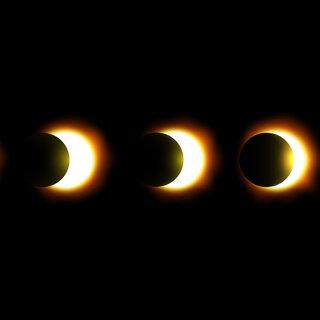 Na Cidade: Eclipse Lunar