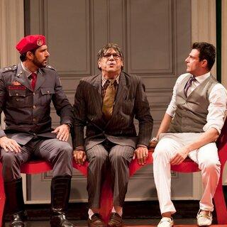 Teatro: Homens no Divã