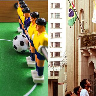Na Cidade: 1ª Feira do Futebol do Pátio Metrô São Bento