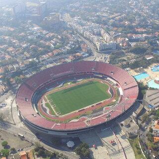 Esportes: Estádio do Morumbi - Cícero Pompeu de Toledo