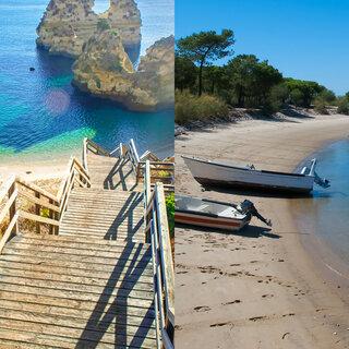 Viagens Internacionais: Conheça as 10 melhores praias da região do Algarve, em Portugal