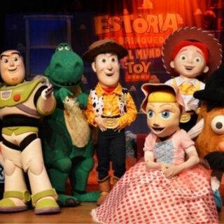 Teatro: O Incrível Mundo de Toy Story