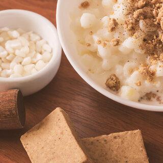 Receitas: Aprenda a fazer uma saborosa canjica com paçoca