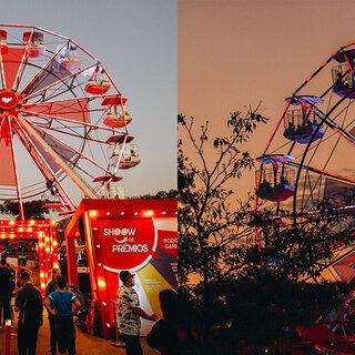 Na Cidade: Parque Ibirapuera ganha roda-gigante do iFood; saiba tudo!