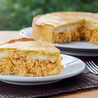 Receitas: Torta integral de frango cremosa é perfeita para o almoço ou jantar; confira a receita!