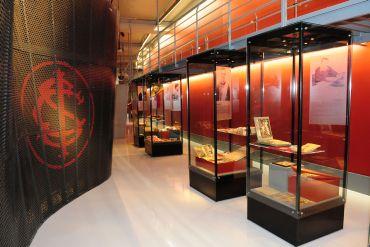 Arte: Museu Sport Club Internacional - Ruy Tedesco