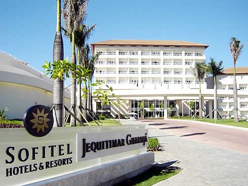 Resultado de imagem para fotos do hotel jequitimar guarujá