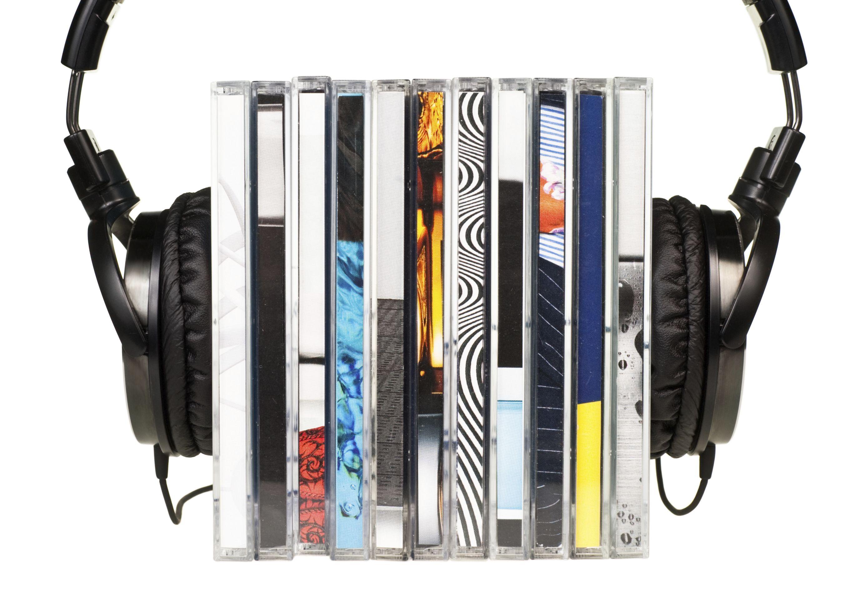 Música: Discos de vinil e CDs