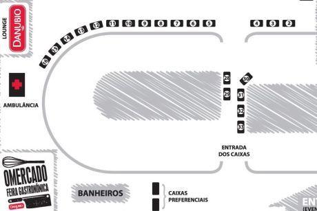 Mapa de O Mercadi