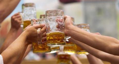 Opções de cerveja no Oktoberfest SP
