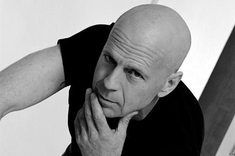 Bruce Willis careca