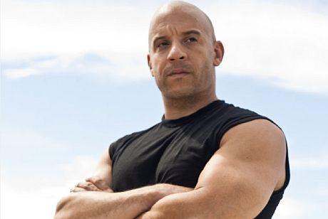 Vin Diesel careca