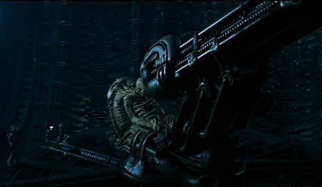 O Space Jockey faz aparição misteriosa em Alien