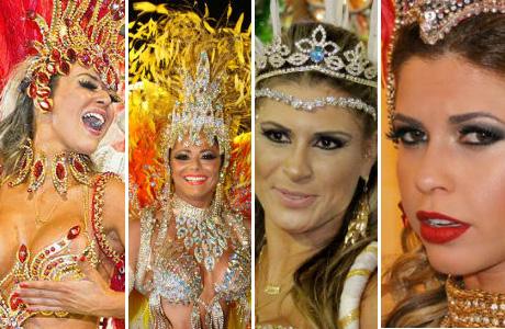 Viagens: Famosas que desfilam no Carnaval de São Paulo