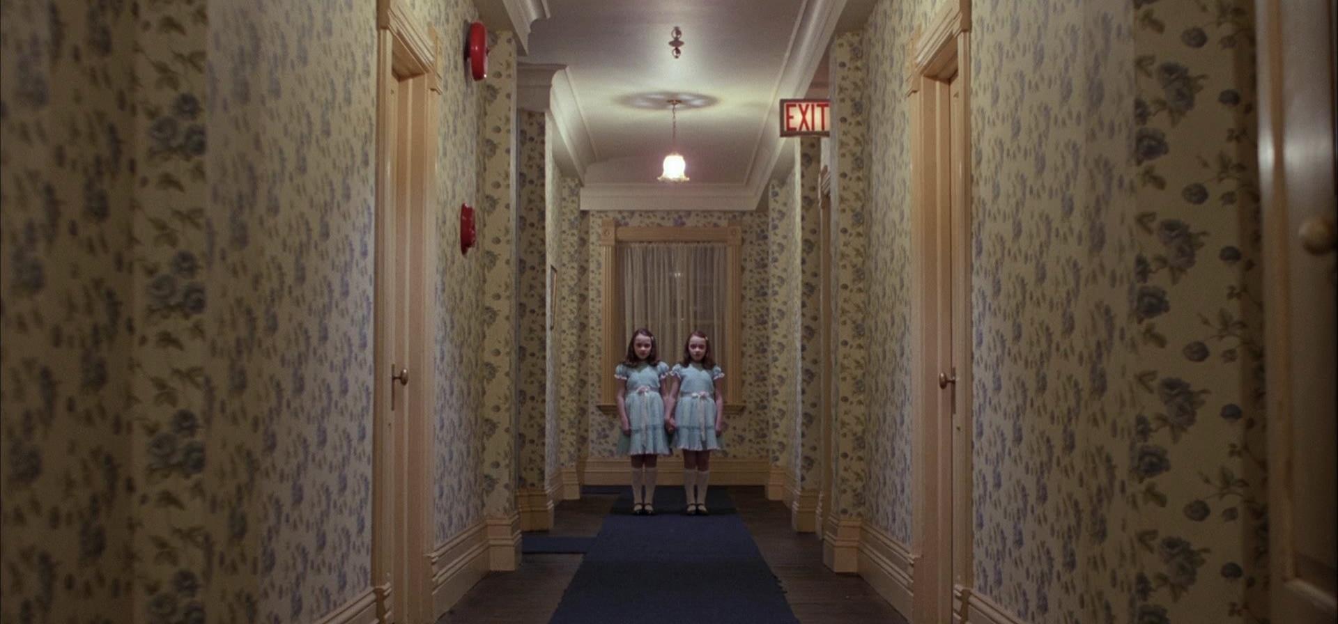 Cena de O Iluminado, de Stanley Kubrick