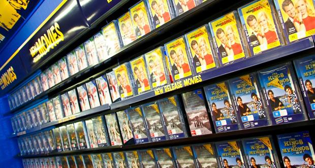 locadora de filmes nos anos 80