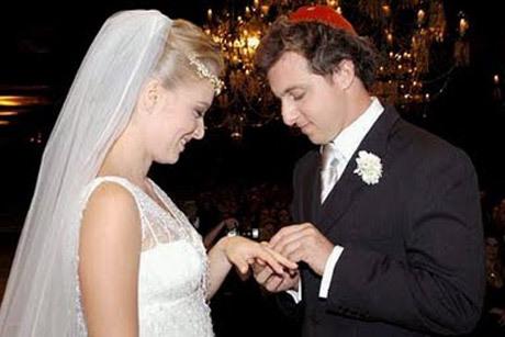 Angélica e Luciano Huck se casaram em 2004 Créditos: Reprodução