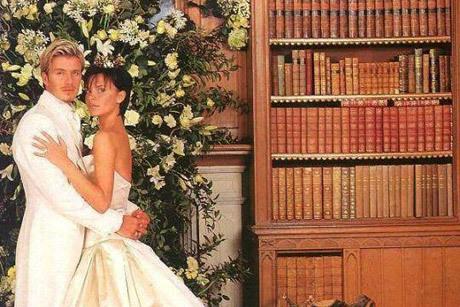David e Victoria Beckham se casaram em um castelo na Irlanda Créditos: Reprodução