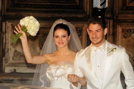 Stephany Brito e Alexandre Pato se casaram em 2009, se separando pouco tempo depois Créditos: Reprodução