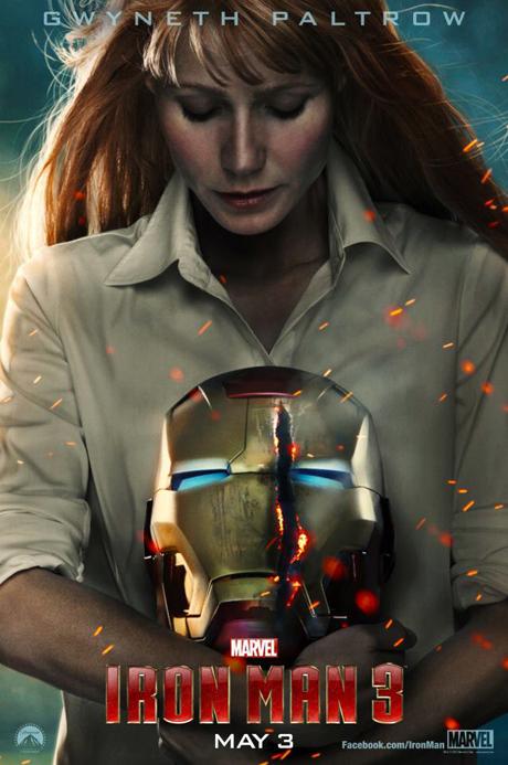 gwyneth paltrow poster homem de ferro 3