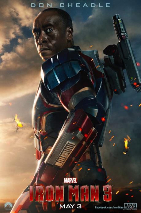 war machine poster homem de ferro 3