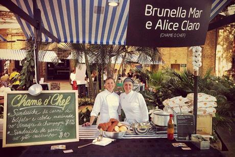 Brunela Mar e Alice Claro