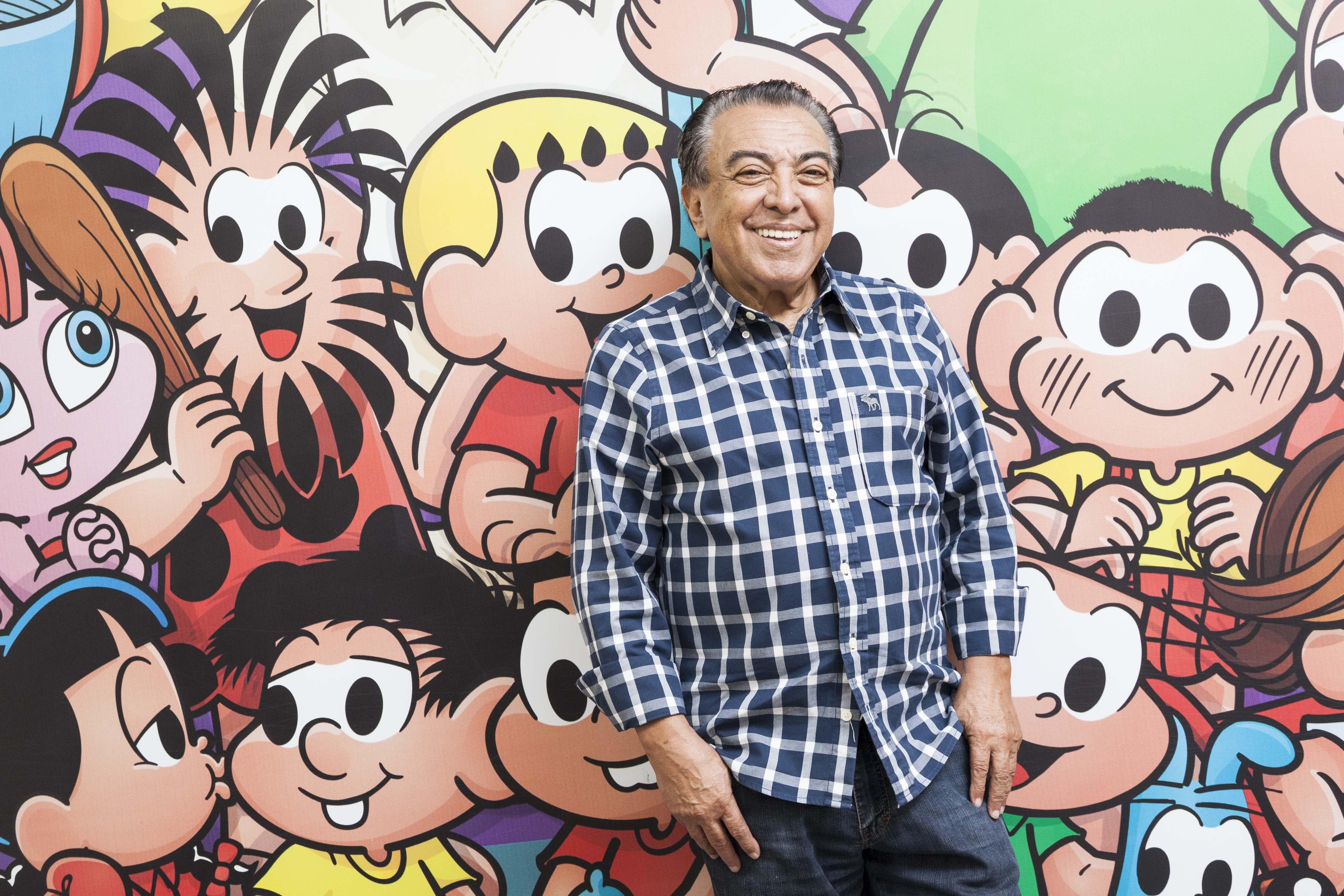 Mauricio de Sousa Monica 50 anos