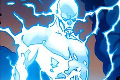 O vilão Electro na versão Ultimate Marvel