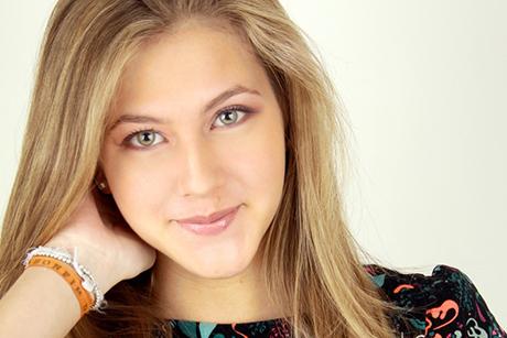 Hanna Romanazzi, atriz que interpretará Sofia em Malhação