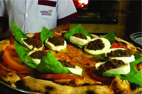 pizza da Mercearia Bresser