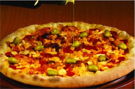 pizza da Pizzaria Ravenna
